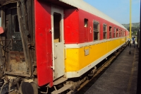 Mit der Eisenbahn von Durres nach Pogradec, Albanien