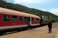 Unterwegs mit der Eisenbahn in Albanien