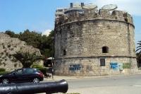 Festungsturm in Durres, Albanien