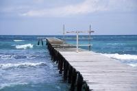 Traum wird wahr: Steg auf das offene Meer