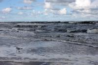 stürmische Ostsee vor der Insel Usedom