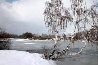 Winterlandschaft im Vorland des Riesengebirges