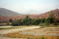 trockene, karge Landschaft von Salta - Villazon in Argentinien