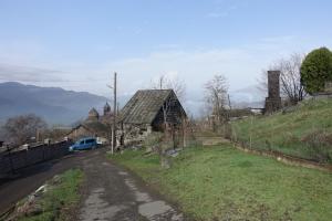 Armenisches Bergdorf
