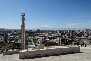 Blick auf Jerewan