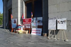 Politischer Protest in Jerewan