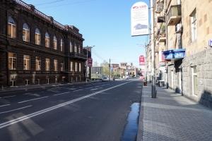 Straße in Jerewan