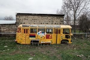 Vanadzor in Armenien