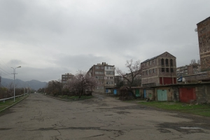 Vanadzor in Armenien