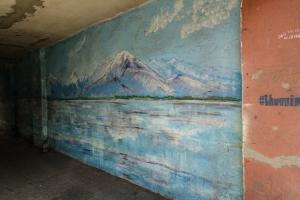Wandmalerei in Jerewan