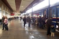Bahnhof in der griechischen Hauptstadt Athen