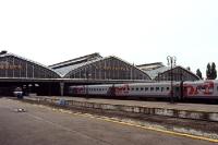 Bahnhof der russischen Stadt Kaliningrad
