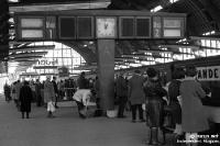 Bahnhof Alexanderplatz in Ostberlin, DDR, 60er Jahre