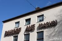 Bahnhof von Aue / Sachsen in Deutschland