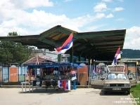 Der Bahnhof von Banja Luka in der Srpska Republika in Bosnien und Herzegowina