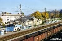 Der Bahnhof von Sludjanka am Baikalsee (Russland)