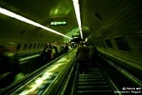 Metrostation in der ungarischen Hauptstadt Budapest