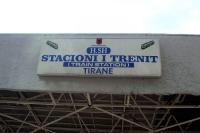 Stacioni i Trenit Tirane, Bahnhof der albanischen Hauptstadt Tirana