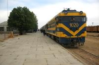 Bahnhof von Villazón an der Grenze zwischen Bolivien und Argentinien