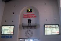 Der Stuttgarter Hauptbahnhof (bekannt durch das Bahnprojekt S21)