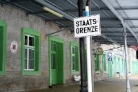 Grenzbahnhof von Zelezna Ruda - Alzbetin und Bayerisch Eisenstein