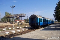 Bahnhof von Kjustendil in Bulgarien