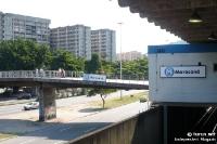 Metrostation in Rio de Janeiro, U-Bahn in Brasilien