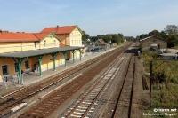 Bahnhof von Strausberg (Märkisch Oderland / Brandenburg)