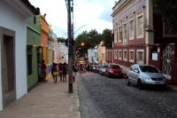 Stadtzentrum der Mittelstadt Villazón im Departamento Potosí, Bolivien