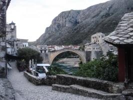 Brücke in Altstadt von Mostar