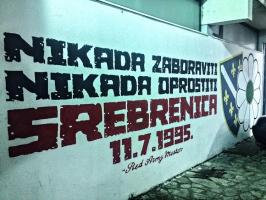 Gedenken an Srebrenica (11.7.1995)