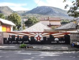 Graffiti in Mostar