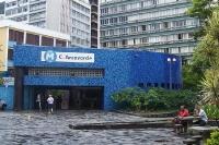 Metrostation C. Arcoverde in Copacabana, die U-Bahn in Rio de Janeiro