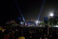 Konzert am Strand von Leblon und Ipanema in Rio de Janeiro