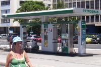Tankstelle an der Avenida Atlantica in Copacabana / Rio de Janeiro