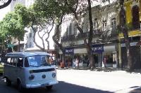 alter VW-Bus in Rio de Janeiro