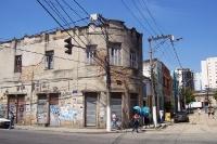 altes verfallenes Gebäude in Niteroí