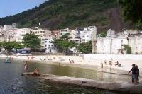 Strand von Urca in Rio de Janeiro
