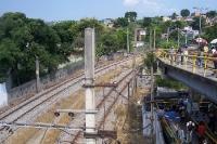 Metrostation / Estação Pavuna / S. J. Meriti in der Zona Norte von Rio de Janeiro