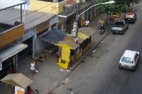 Straßenleben in Pavuna in der Zona Norte in Rio de Janeiro