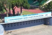 O novo Maracanã é nosso. É a de 2014 também. Bilheteria in Rio de Janeiro.
