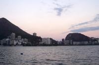 Abendstimmung in Rio de Janeiro an der Lagoa da Freitas