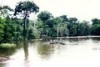 Fischer auf dem Amazonas