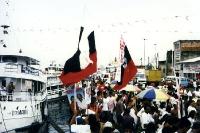 Wahlkampf in Manaus / Brasilien im Sommer 1996