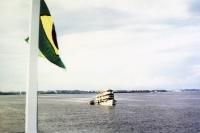Schiffe auf dem Amazonas, Brasilien