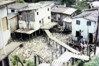 Eine Favela in Manaus (Amazonien - Brasilien), 1996