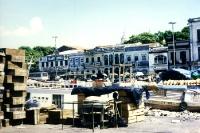am Hafen der brasilianischen Stadt Belém
