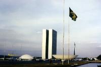 Verwaltungs- und Regierungsgebäude in der Hauptstadt Brasilia