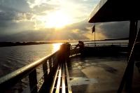 Mit dem Schiff den Amazonas hinauf von Brasilien nach Peru