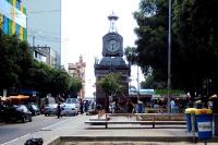 im Stadtzentrum von Manaus am Rio de Negro, Brasilien